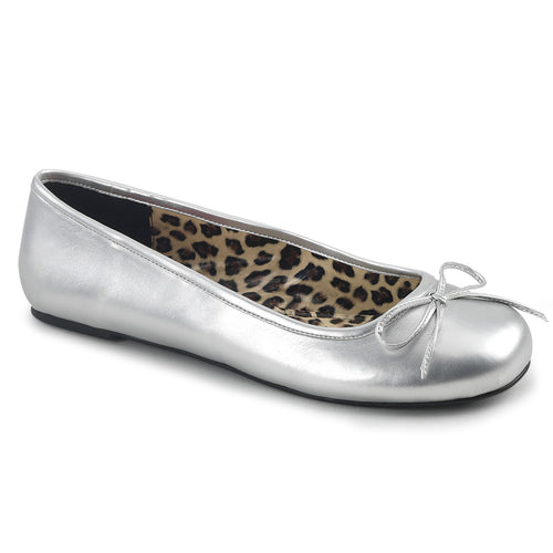ANNA-01 Pleaser Sexy Silver Fetish Footwear
