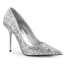 Load image into Gallery viewer, APPEAL-20G Pleaser Sexy Shoes 4 Inch Heel Metal Stiletto Heel Pointed Glitter Shoes Pumps - Sexy Shoes - 5