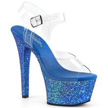 Load image into Gallery viewer, Sexy ASPIRE-608LG Sexy Stripper Glitter High Heel Platform Sandals  Pleaser - Miss Hollywood - Sexy Shoes