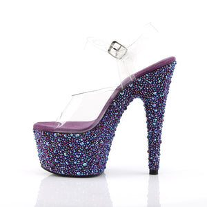 Sexy BEJEWELED-708MS Sexy Pleaser Shoes High Heels  Pleaser - Miss Hollywood - Sexy Shoes