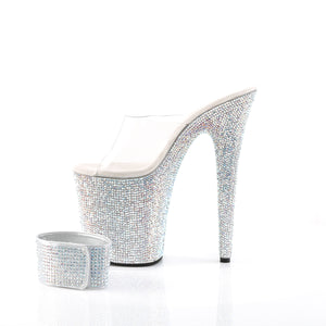 BEJEWELED-812RS Sexy Multi Rhinestones Pole Dancing Platform