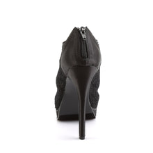 Load image into Gallery viewer, BELLA-26 Fabulicious 5 Inch Heel Black Satin Sexy Shoes