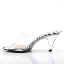 Load image into Gallery viewer, BELLE-301 Clear Posing Competiton Shoes 3 Inch Stiletto Heel Slip On Shoes-Shoes-Fabulicious-Footwear Fetish-Clear/Clear-Miss Hollywood Sexy Shoes Pleaser Shoes