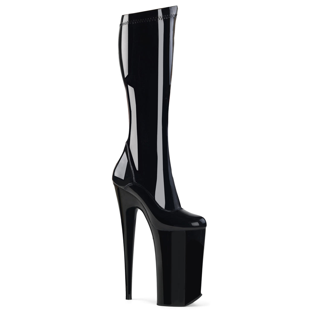 Sexy BEYOND-2000 Pleaser Kinky Boots 10 Inch Heel Platforms Knee High Boots  Pleaser - Miss Hollywood - Sexy Shoes