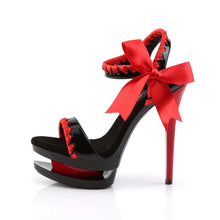 Load image into Gallery viewer, BLONDIE-615 Pleaser Sexy Shoes 6 Inch Stiletto Heel Dual Platforms Two-Tone Sandals