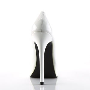 Sexy BONDAGE-01 Devious Fetish 5 1/2 Inch Heel Square Toe Stiletto Heel Shoes Pumps  Devious