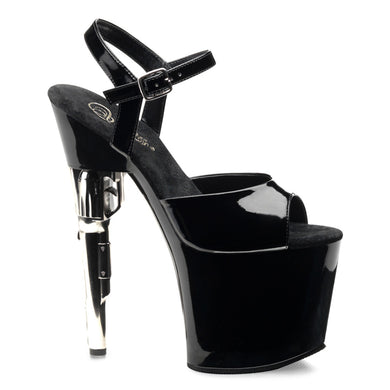 BONDGIRL-709 Pleaser Sexy Shoes 7 1/2 Inch Heel Ankle Strap Platform Sandals