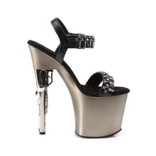Load image into Gallery viewer, BONDGIRL-712 Pleaser Sexy Shoes 7 1/2 Inch Revolver Heel for Dancers