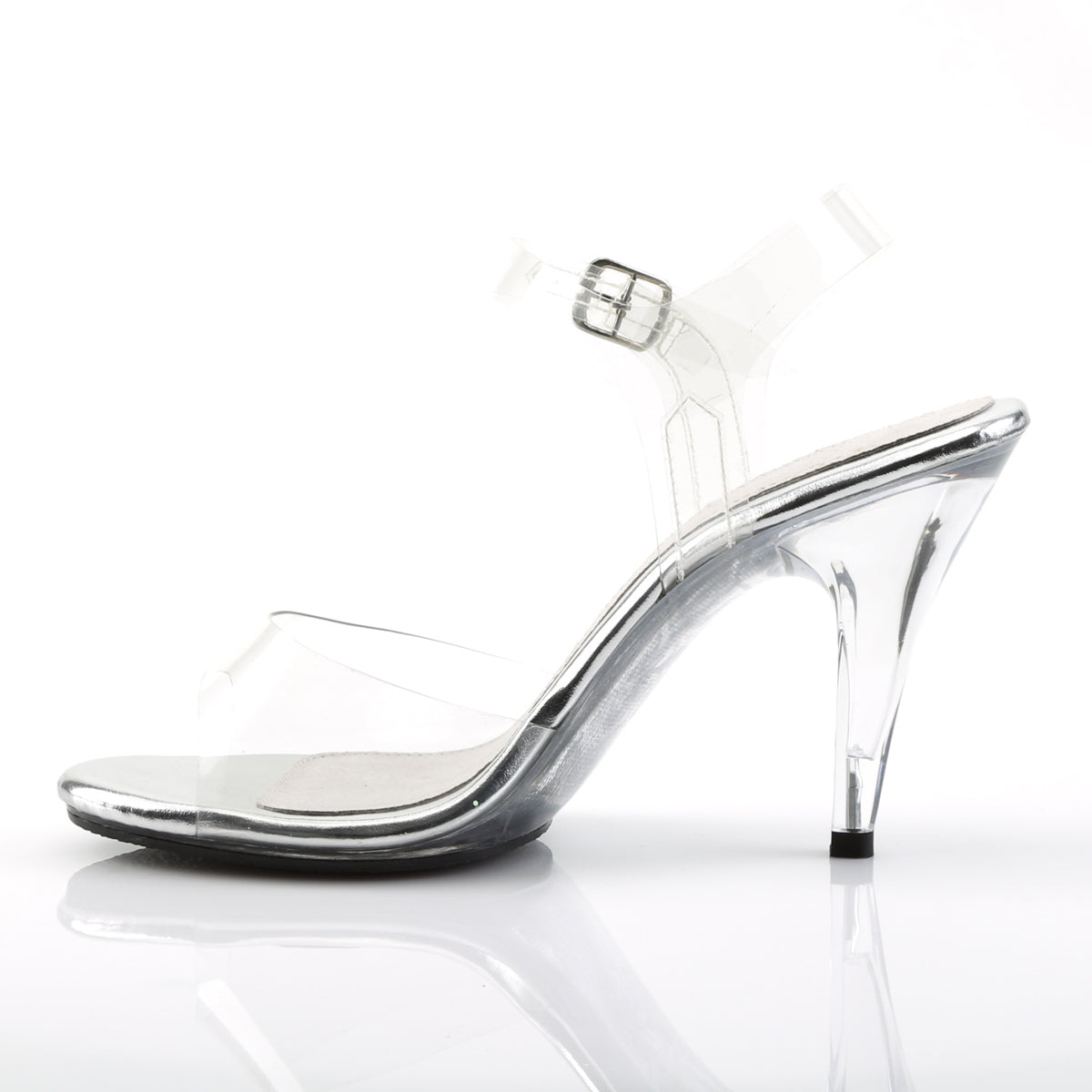 d30973947db CARESS-408 Fabulicious Sexy Shoes 4 Inch Stiletto Heel Ankle Strap ...