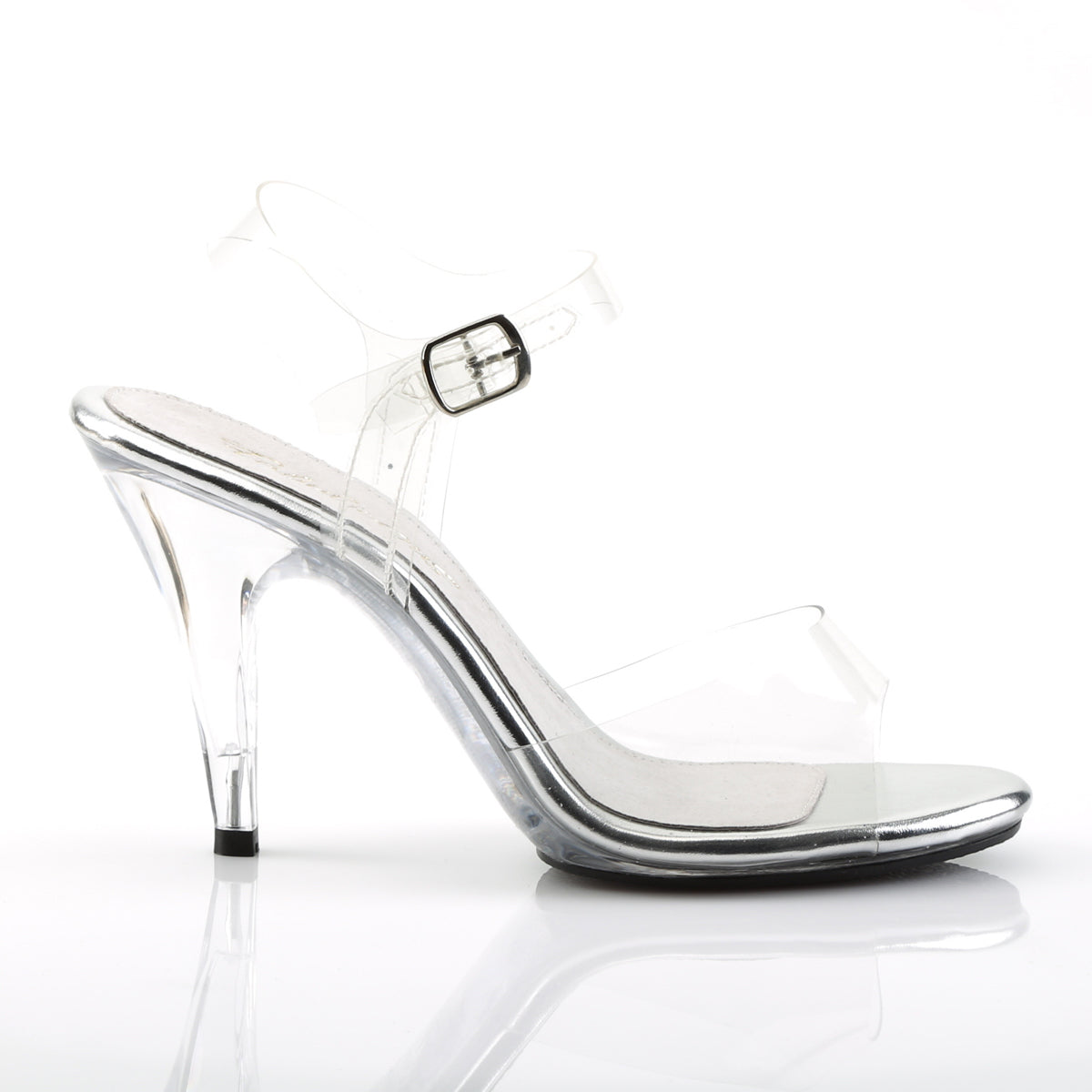 22ba17b804e CARESS-408 Fabulicious Sexy Shoes 4 Inch Stiletto Heel Ankle Strap ...