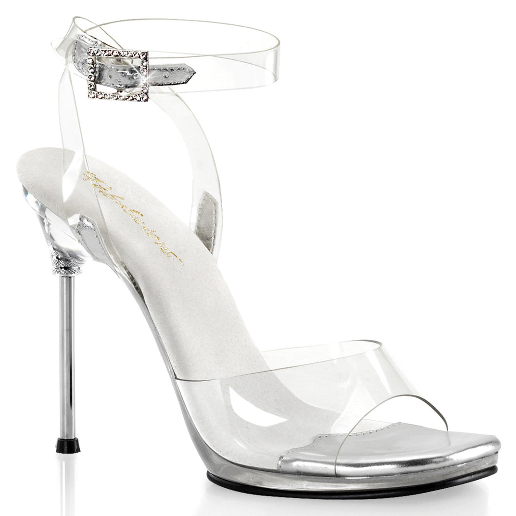 CHIC-06 Fabulicious Sexy Shoes Platforms Wrap Around Ankle Strap Sandals-Shoes-Fabulicious-Footwear Fetish-Clear/Clear-Miss Hollywood Sexy Shoes