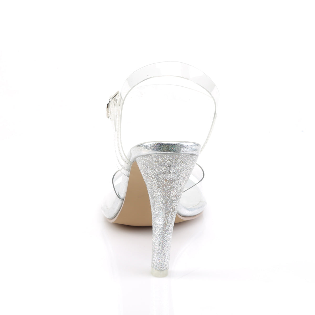 16491a70dbc CLEARLY-408MG Fabulicious Sexy Shoes 4 1 2 Inch Heel Glitter ...