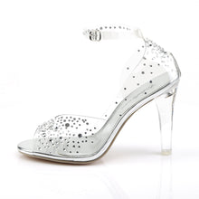 Load image into Gallery viewer, Clearly-430RS Ladies Bling Clear Posing Competition Shoes