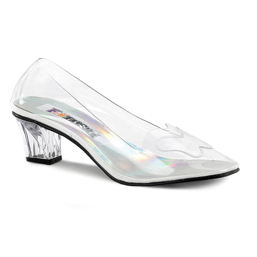 CRYSTAL-103 Funtasma 2 Inch Heel Clear Women's Sexy Shoes