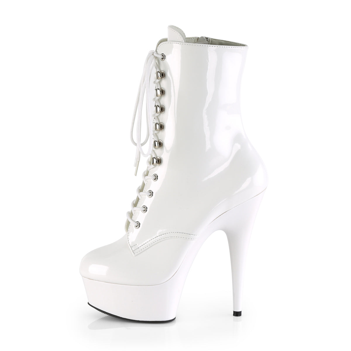 4ee15d3f4055 DELIGHT-1020 Pleaser Sexy Boots 6 Inch Lace-Up Platforms Ankle Boots ...