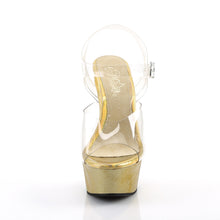 749fe9793b1 DELIGHT-608HG Pleaser Sexy Shoes 6 Inch Heel Ankle Strap Holographic ...