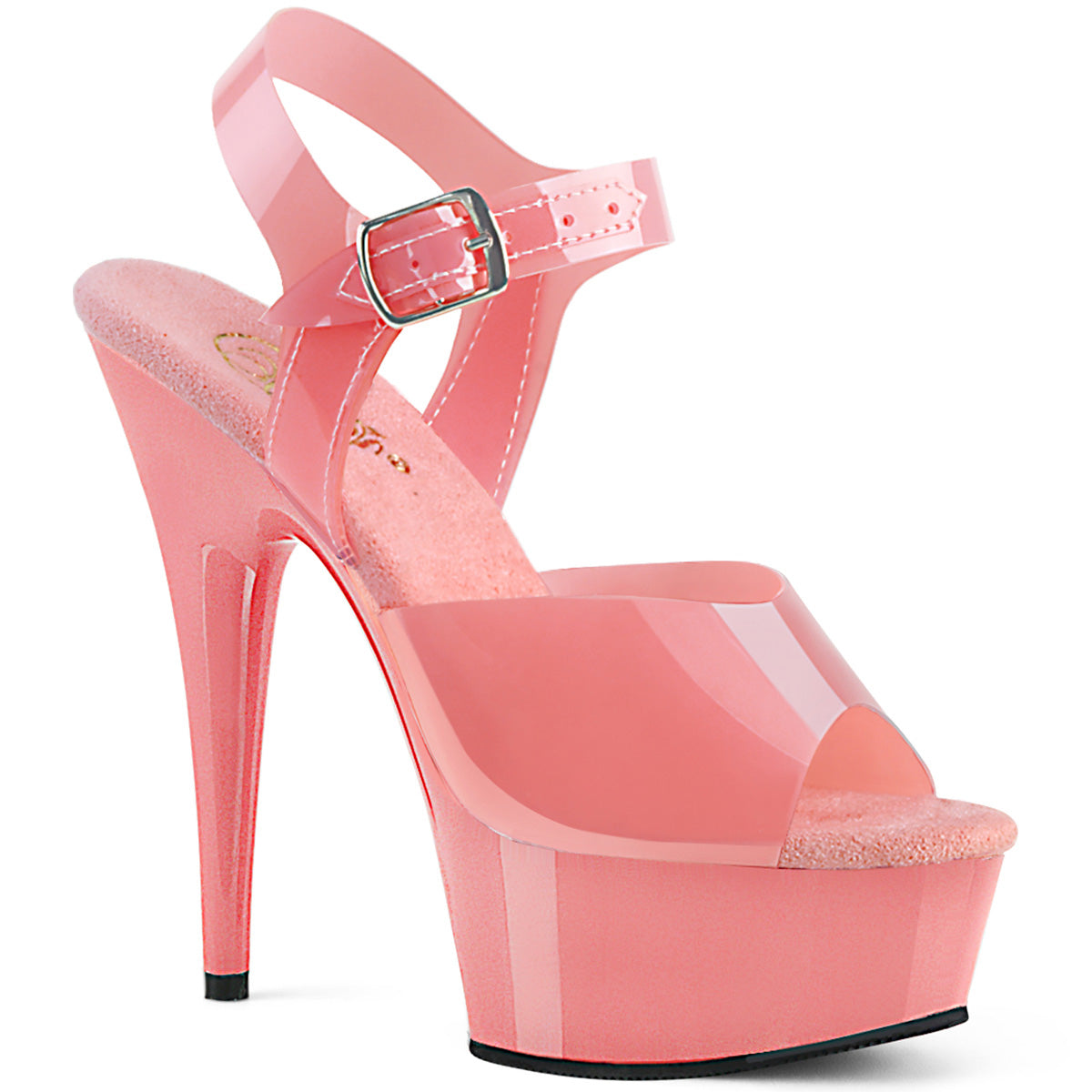DELIGHT-608N Pleaser Sexy Shoes 6 Inch Stiletto Heel Ankle Strap ...