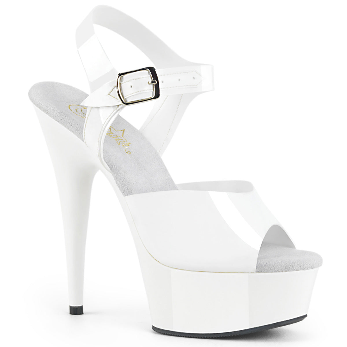 16949341cfca DELIGHT-608N Pleaser Sexy Shoes 6 Inch Stiletto Heel Ankle Strap ...
