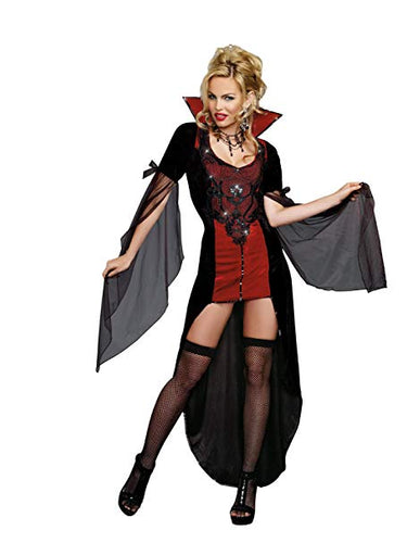 DG9422 Dreamgirl Killing me Softly Fancy Dress Costume-Costume-Dreamgirl-Small-Miss Hollywood Sexy Shoes