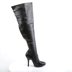 DIVA-3006X Funtasma Sexy Shoes 5 Inch Heel Wide Width Thigh High Length Boots