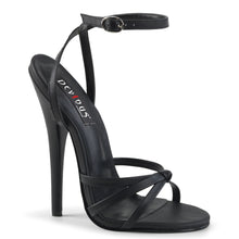Load image into Gallery viewer, Sexy DOMINA-108 Devious Fetish Shoes 6 Inch Strappy Ankle Wrap Sandals  Devious - Miss Hollywood - Sexy Shoes