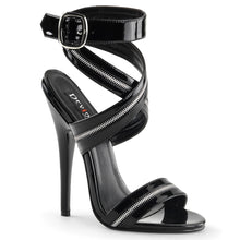 Load image into Gallery viewer, DOMINA-119 Devious 6 Inch Heel Black Patent Erotic Shoes-Devious-Miss Hollywood Sexy Shoes