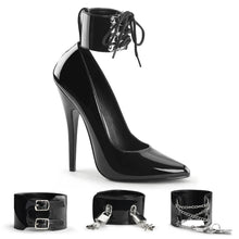 Load image into Gallery viewer, DOMINA-434 Devious 6 Inch Heel Black Patent Erotic Shoes