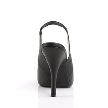 Load image into Gallery viewer, EVE-04 Pleasers Shoes 5 Inch Heel Stiletto Heel Peep Toe Slingback Sandals