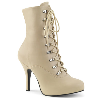 EVE-106 Pleaser Sexy Shoes 5 Inch Heel Stiletto Heel Lace Up Ankle Boot