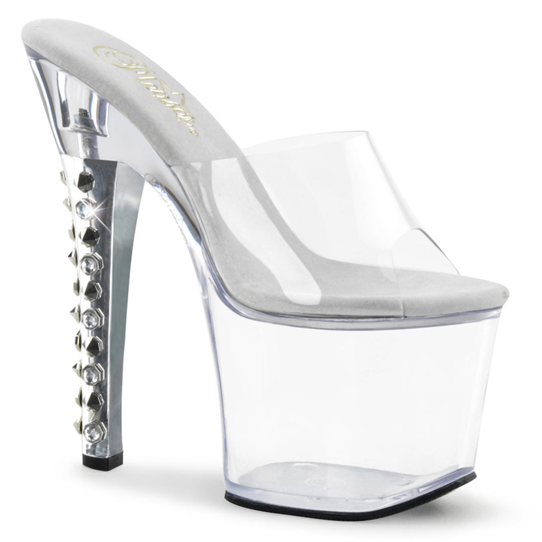 FEARLESS-701 Pleaser Sexy Shoes 7 Inch Heel Bling Spikes Heels - Miss Hollywood Pleaser Shoe Supplier