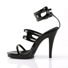 Load image into Gallery viewer, FLAIR-458 Fabulicious 4.5 Inch Heel Black Sexy Shoes