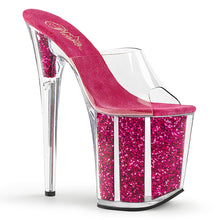 Load image into Gallery viewer, Sexy FLAMINGO-801G Sexy Pole dancing High Heel Shoes with Glitter Filled Platform Shoes  Pleaser - Miss Hollywood - Sexy Shoes