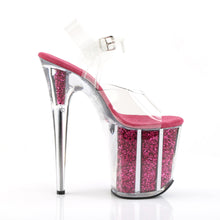 Load image into Gallery viewer, Sexy FLAMINGO-808G Pleaser Sexy Shoes 8 Inch Heel Ankle Strap Platform Sandals  Pleaser - Miss Hollywood - Sexy Shoes