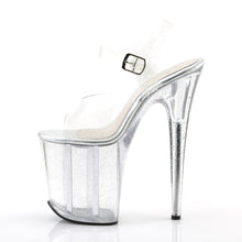 Load image into Gallery viewer, Sexy FLAMINGO-808MMG Sexy Pole dancing High Heel Shoes with Glitter Platform Bottom  Pleaser - Miss Hollywood - Sexy Shoes