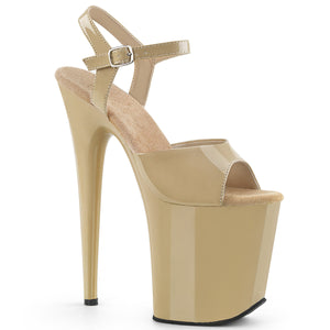 FLAMINGO-809 Pleaser Sexy Shoes 8 Inch Heel Ankle Strap Platform Sandals for Pole Dancing Online
