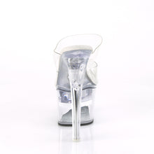 "Load image into Gallery viewer, FLASHDANCE-702 Pleaser 7"" Heel Clear Pole Dancing Platforms"