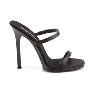 GALA Fetish Style Black 2 Strap Shoes with no Platforms