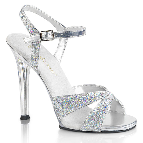 GALA-19 Fabulicious 4.5 Inch Heel Silver Glitter Sexy Shoes