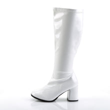 Load image into Gallery viewer, GOGO-300X Funtasma Sexy 3 Inch Wide Width Gogo Boots, Plus Size, Side Zip
