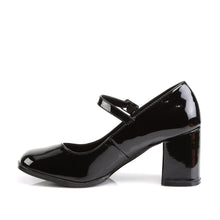 Load image into Gallery viewer, GOGO-50 Funtasma 3 Inch Heel Black Patent Women's Sexy Shoes