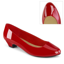 Load image into Gallery viewer, GWEN-01 Pleaser Pink Label Single Soles - Sexy Red Pat Fetish Footwear-Single Soles-Pleaser Pink Label-Footwear Fetish-Red Pat-Miss Hollywood Sexy Shoes