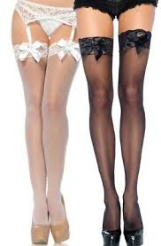LA1912 Sexy Leg Avenue Sheer Thigh High Stockings