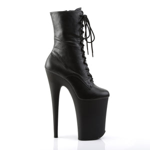 INFINITY-1020 Pleaser 9 Inch Heel Black Pole Dancer Platform