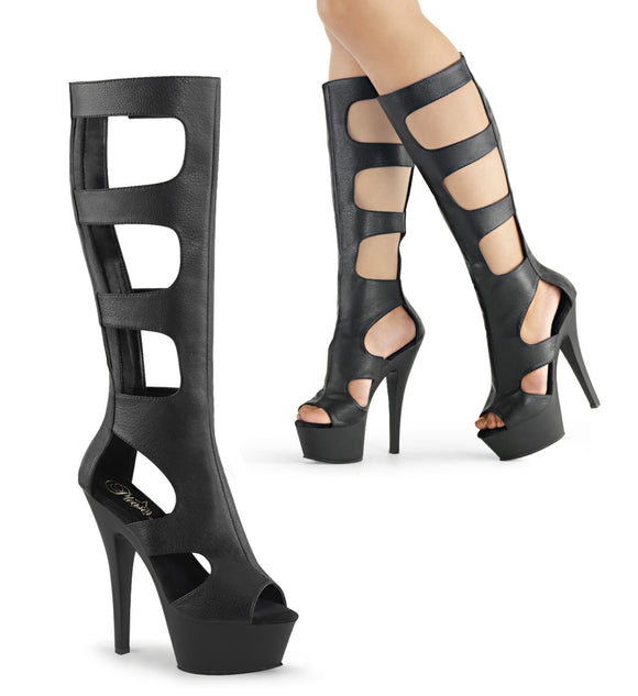 KISS-200-45 Pleaser Sexy Sale Shoes 6 Inch Spike Heel Platforms boots - Sexy Shoes - 1