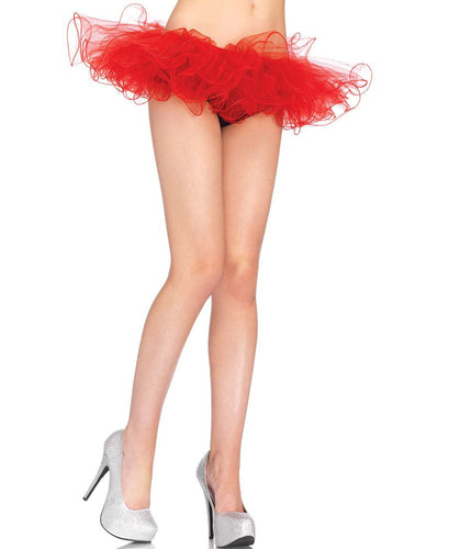 LA2668 Tulle Petticoat TuTu-Costume-Leg Avenue-One Size-Red-Miss Hollywood Sexy Shoes