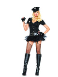 LA83619 Officer Bombshell Fancy Dress Costume - Miss Hollywood - 1