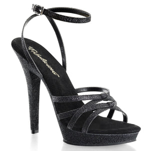 LIP-128 Fabulicious Sexy Shoes 5 Inch Heel Strappy Wrap Ankle Strap Sandals - Miss Hollywood