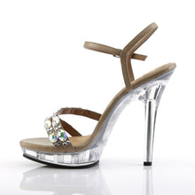 Load image into Gallery viewer, LIP-133 Fabulicious 5 Inch Heel Taupe Sexy Shoes