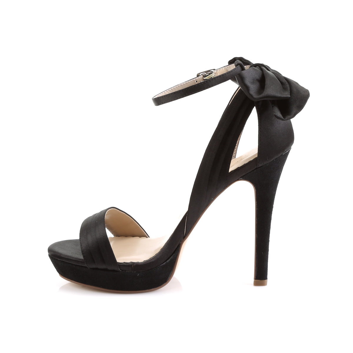 1d9107bd22b LUMINA-25 Fabulicious Sexy Shoes 4 3/4 Inch Heel Ankle Strap Sandals with  Bow