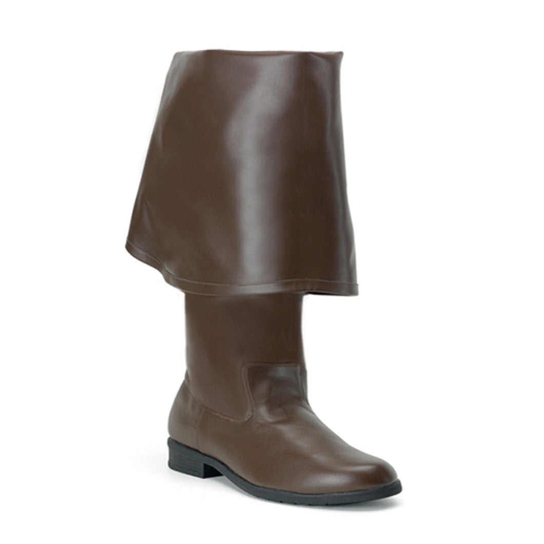 MAVERICK-2045 Brown Pu Funtasma Fancy Dress Brown Boots